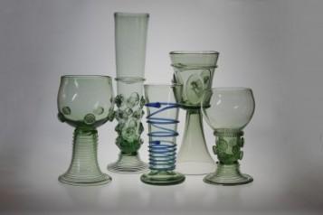 Číše na víno - Lesní sklo