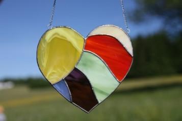 Dekorace - Lesní sklo