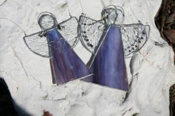 Andílci hranatí - Lesní sklo