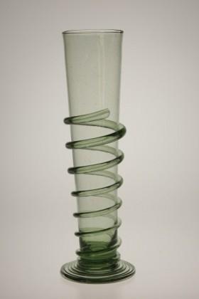Renesanční číše se spinou velká - Lesní sklo