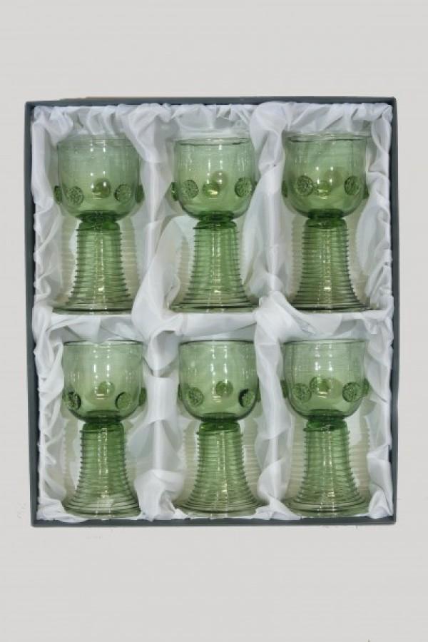 Dárkové balení šesti rovných římanů - Lesní sklo