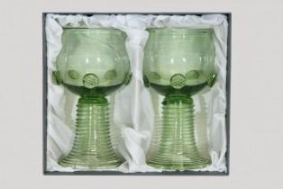 Dárkové balení dvou kulatých římanů - Lesní sklo