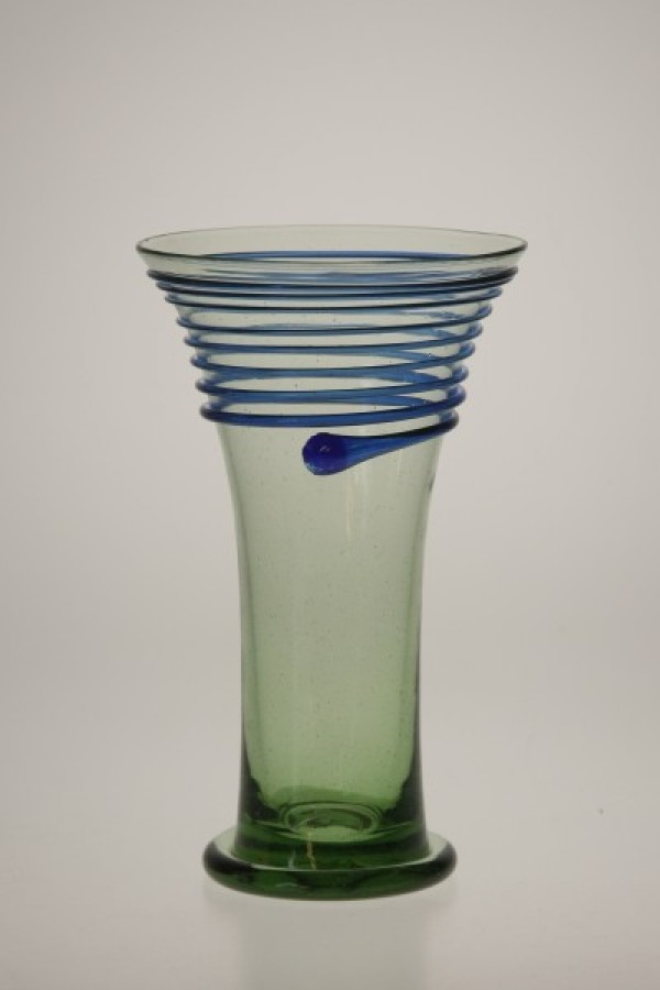Pohár s modrou nití - Lesní sklo
