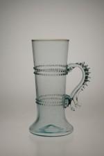 Balení dvou sklenic s vinutím a uchem - Lesní sklo