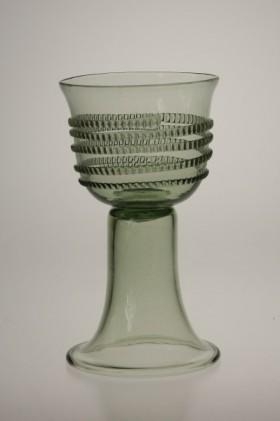 Pohár s rádlovou spinou - Lesní sklo