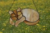 Kočka Míca - Lesní sklo