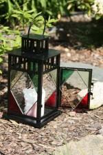 Lucerna barevná - Lesní sklo