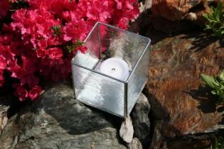 Svícen se zrcátkovým dnem - Lesní sklo