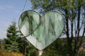 Srdce zelené - Lesní sklo