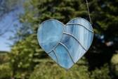 Srdce modré - Lesní sklo