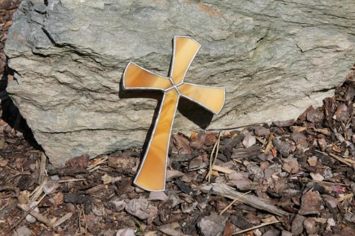 Kříž medový - Lesní sklo