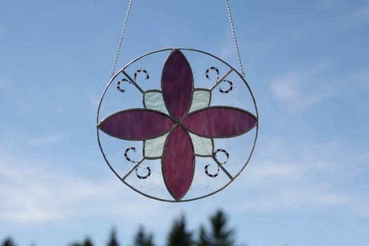 Mandala - Lesní sklo