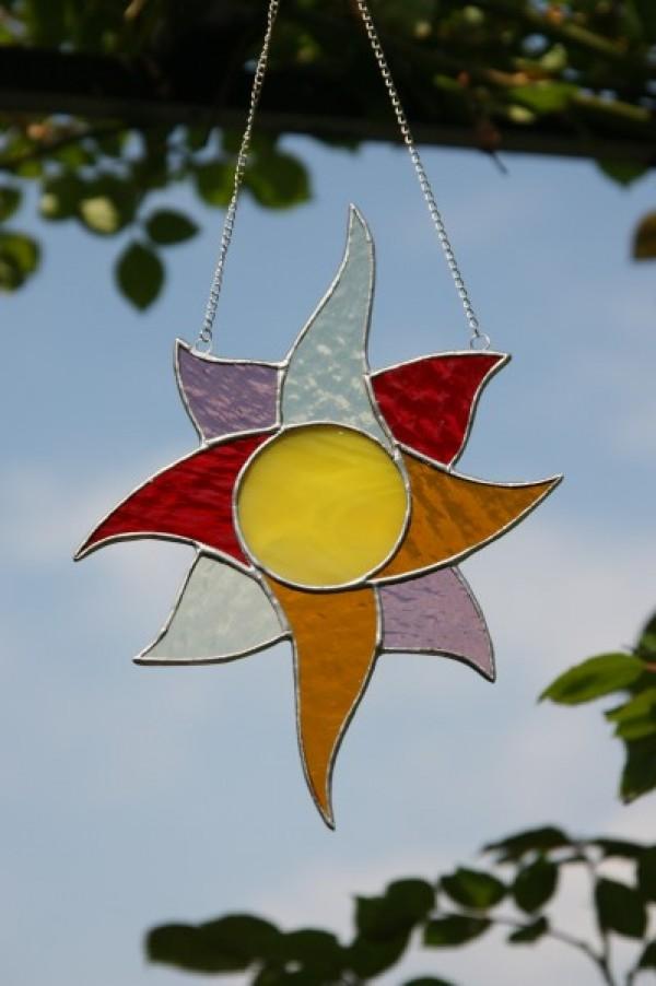 Slunce barevné - Lesní sklo