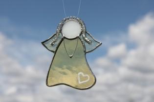 Andělka jemně žlutá - Lesní sklo