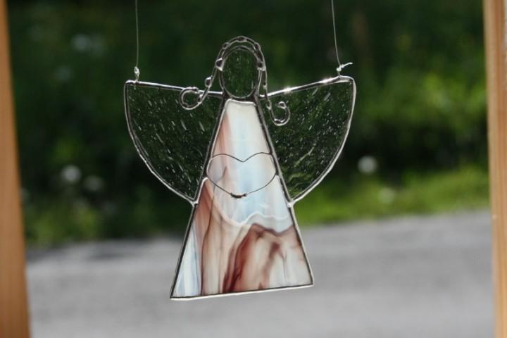 Andílek s velkým srdcem - Lesní sklo