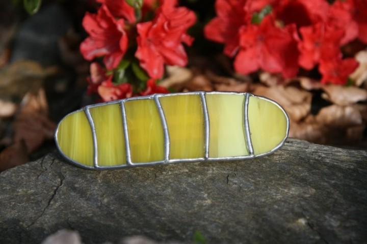 Spona žlutá - Lesní sklo