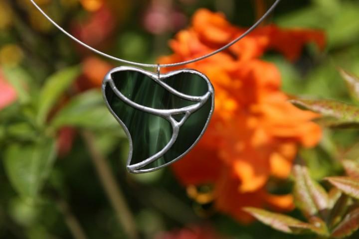 Srdce velké zelené - Lesní sklo