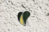 Srdíčko zeleno-žluté - Lesní sklo