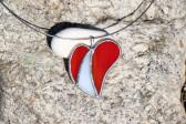 Srdíčko dvou barev - Lesní sklo
