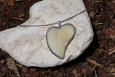 Srdíčko béžové - Lesní sklo