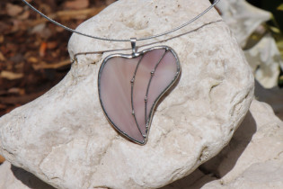 Srdíčko šeříkové zdobené - Lesní sklo