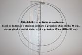 Náhrdelník šeříkový - Lesní sklo