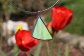 Zelený šperk - Lesní sklo
