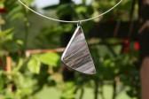 Kouřový trojúheníček - Lesní sklo