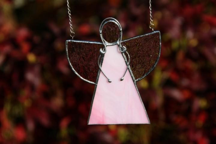 Andělka růžová - Lesní sklo