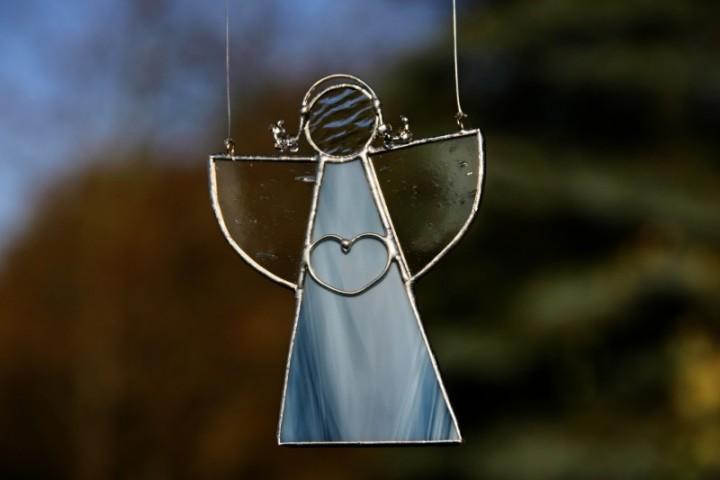 Andělka z moře - Lesní sklo