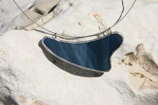 Náhrdelník z moře - Lesní sklo
