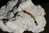 Šperk pro dobrou náladu barevný - Lesní sklo