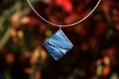 Šperk z moře zdobený - Lesní sklo