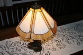 Tiffany lampa - Lesní sklo