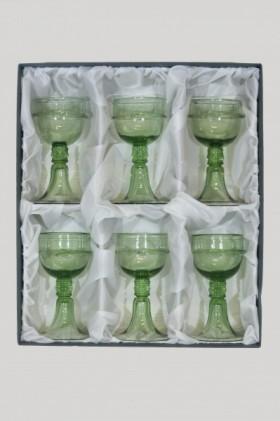 Dárkové balení šesti číší kurtizány - Lesní sklo