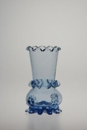 Vázička modrá - Lesní sklo