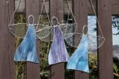 Anděl barvy nebe - Lesní sklo