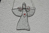 Anděl s velkým srdcem - Lesní sklo