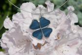 Čtyřlístek modrý - Lesní sklo