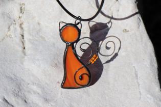 Kočka oranžová - Lesní sklo