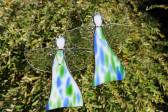 Barevný anděl - Lesní sklo
