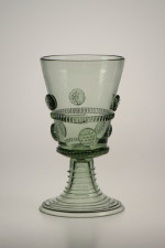 Dárkové balení dvou pohárů s malinami - Lesní sklo