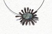 Sluníčko z kamínku - Lesní sklo