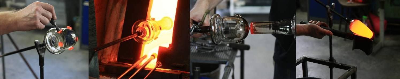 Lesní sklo - ruční výroba - Lesní sklo