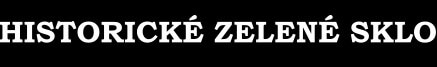 Logo - Lesní sklo